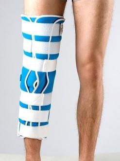 Тутор Реабилитимед 3Н на коленный сустав с пятью ребрами жесткости - фото 11674