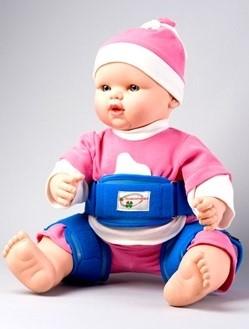 Шина Реабилитимед ДОШ-1 детская ортопедическая для тазобедренных суставов - фото 11697