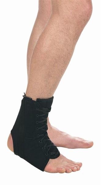 Бандаж Тривес Т-8608 на голеностопный сустав с анатомическими шинами - фото 11732