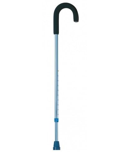 Трость Nova B1040 с дугообразной ручкой и функцией регулирования по высоте - фото 11783