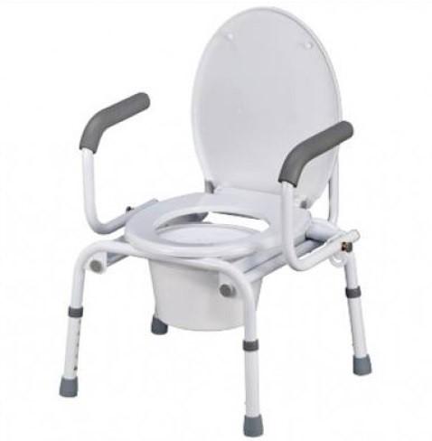 Кресло-туалет Nova A8900AD с откидными подлокотниками