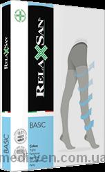 Компрессионные колготки Relaxsan Basic XL с УВЕЛИЧЕННЫМ ОБЪЕМОМ БЕДЕР 2 класс компрессии