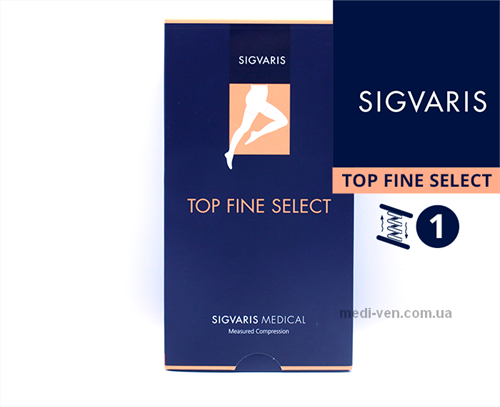 Компрессионные колготы Sigvaris Top Fine Select 1 класс компрессии