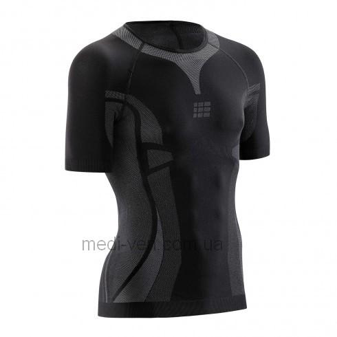 УЛЬТРАЛЕГКАЯ футболка с короткими рукавами для занятий спортом medi CEP ДЛЯ ЖЕНЩИН И МУЖЧИН