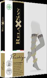 ЖЕНСКИЕ компрессионные чулки Relaxsan Prestige С КРУЖЕВНОЙ РЕЗИНКОЙ 1 класс компрессии закрытый носок