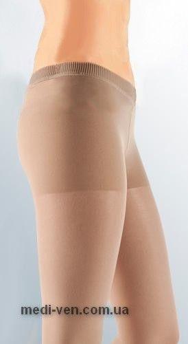 ЖЕНСКИЕ ТОНКИЕ ПРОЗРАЧНЫЕ компрессионные колготки С ЗАНИЖЕННОЙ ТАЛИЕЙ mediven elegance 2 класс компрессии открытый носок