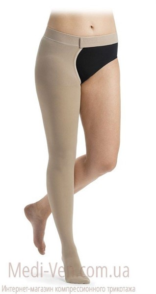 Компрессионный чулок на одну ногу Sigvaris Essential Comfortable 2 класс компрессии открытый и закрытый носок